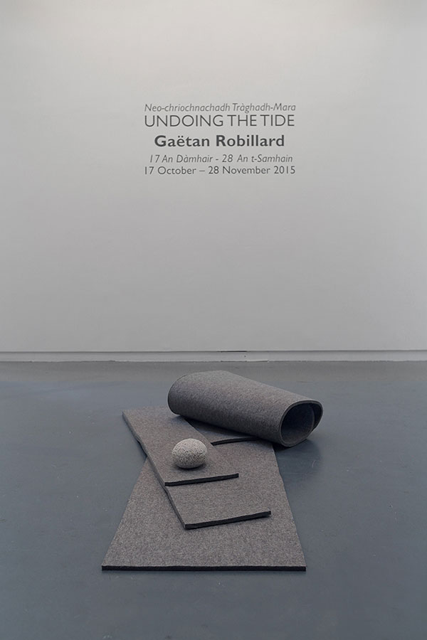 Undoing the Tide - exhibition at An Lanntair, Stornoway
